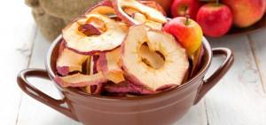 Cómo hacer chips de manzana
