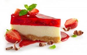 Cheesecake de calabaza y frutillas que te va a volar la cabeza