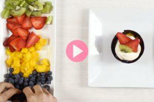 Receta! – Cuenco de chocolate con frutas