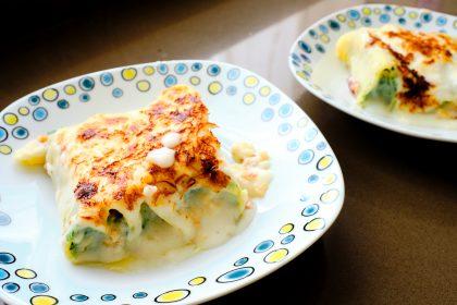 #RECETAS: Canelones espinaca con salsa blanca