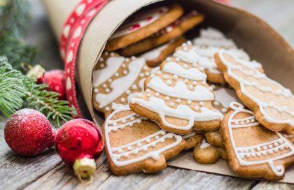 Cookies navideñas de cardamomo