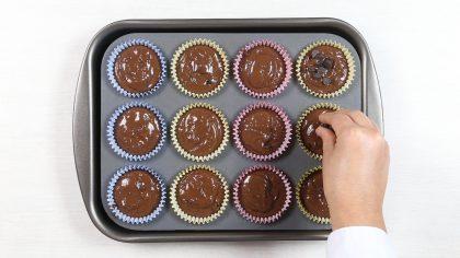 Prepará muffins de chocolate ¡estilo Starbucks!