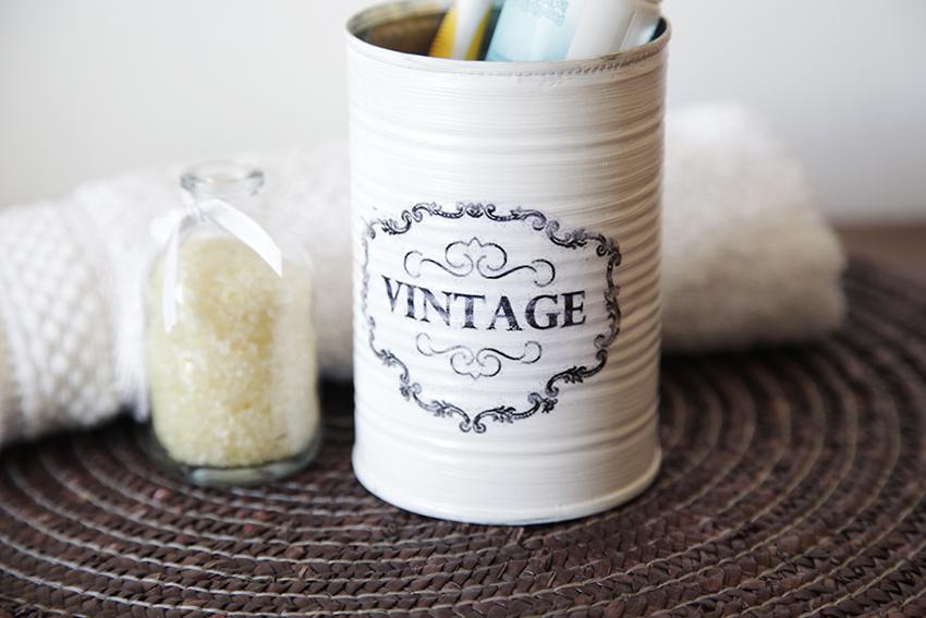 Recicla una lata y conviértela en vintage ¡mira el paso a paso!