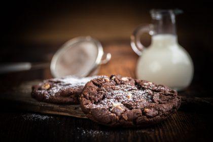Cookies de chocolate sin glúten